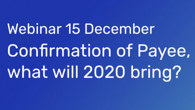Webinar 15 December: Confirmation of Payee, what will 2021 bring?